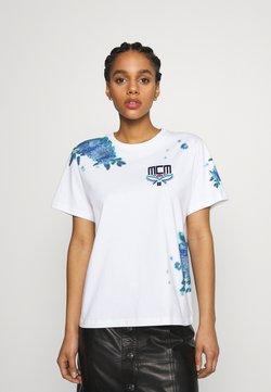 MCM - SHORT SLEEVES TEE - T-Shirt print - white