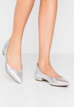 Tamaris - Klassischer  Ballerina - silver