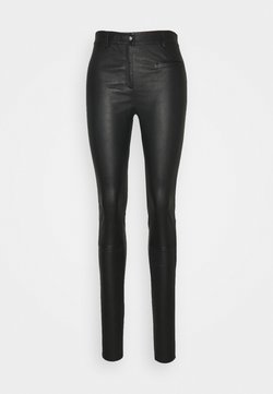 Selected Femme Tall - SLFURBAN STRETCH PANT - Leggingsit - black