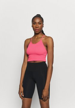 Free People - CROPPED RUN TANK - Fitness/yoga - vivid coral