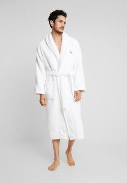 Polo Ralph Lauren - SHAWL COLLAR ROBE - Dressing gown - white
