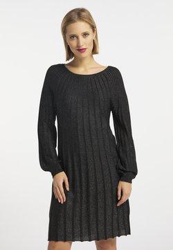 usha - Sukienka etui - schwarz