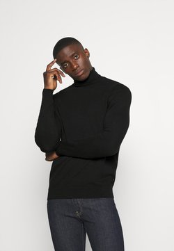 Zign - Strickpullover - black