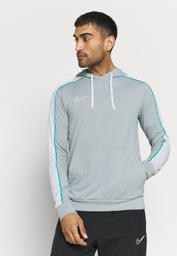 Nike Performance - DRY HOODIE - Langarmshirt - light pumice/white