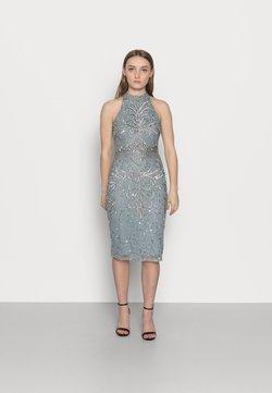 SISTA GLAM PETITE - GLOSSIE  - Sukienka koktajlowa - grey/blue
