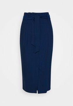 Sisley - SKIRT - Kokerrok - blue