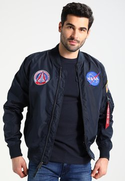 Alpha Industries - NASA REVERSIBLE II - Giubbotto Bomber - blue