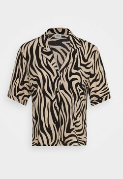 JDY - JDYTARA  - Hemdbluse - tapioca/black zebra