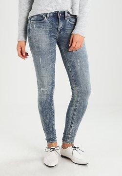 G-Star - MIDGE ZIP MID SKINNY  - Jeans Skinny Fit - lt vintage aged destroy