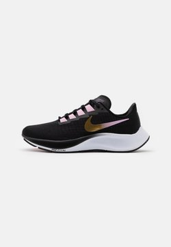 Nike Performance - AIR ZOOM PEGASUS 37 - Neutrala löparskor - black/metallic red bronze/light arctic pink/white