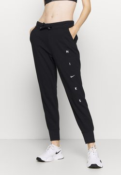 Nike Performance - DRY GET FIT PANT - Jogginghose - black/white
