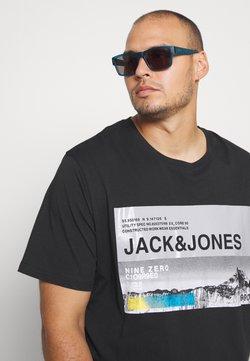 Jack & Jones - JCORACK TEE CREW NECK  - Printtipaita - black