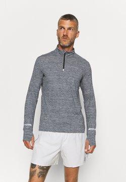 Endurance - TUNE MELANGE MIDLAYER - Koszulka sportowa - india ink