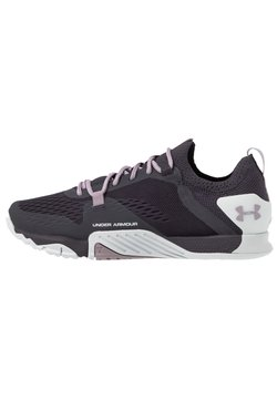 Under Armour - TRIBASE REIGN 2 - Sportschoenen - blackout/purple
