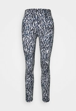 Sweaty Betty - SUPER SCULPT CROPPED YOGA LEGGINGS - Medias - blue