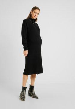 Topshop Maternity - Stickad klänning - black