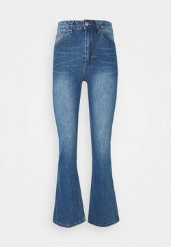 Cotton On - HIGH RISE GRAZER - Jeans a zampa - mid blue washed