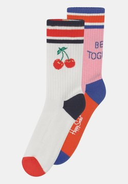 Happy Socks - CHERRY & BETTER TOGETHER 2 PACK UNISEX - Calcetines - multi-coloured