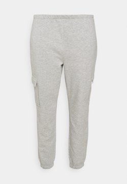 CAPSULE by Simply Be - JOGGER - Jogginghose - grey marl