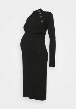 Supermom - DRESS - Gebreide jurk - black