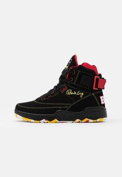 Ewing - 33 BIG PUN - Sneaker high - black/yellow/red
