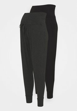 Seraphine - KIERAN 2 PACK - Jogginghose - grey/black