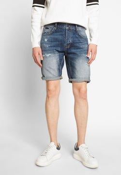Antony Morato - SLIMBAART - Shorts di jeans - denim blue