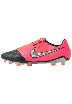 Nike Performance - Moulded stud football boots - laser crimson/metallic silver/black