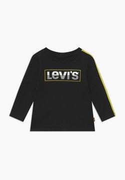 Levi's® - LOGO TAPED LONG SLEEVE - Longsleeve - black