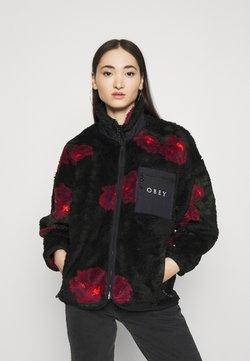 Obey Clothing - MESA SHERPA JACKET - Winterjacke - black multi