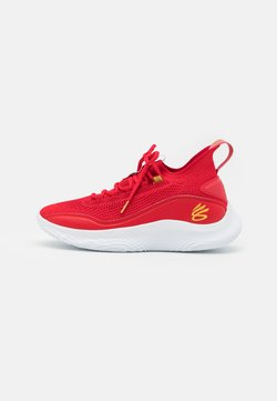 Under Armour - CURRY 8 - Chaussures de basket - red