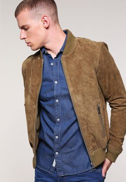 Freaky Nation - TED - Leather jacket - cognac