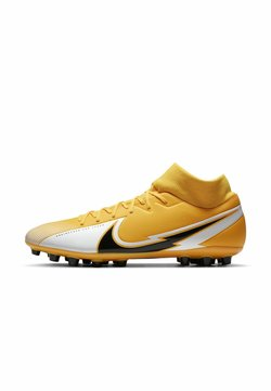 Nike Performance - MERCURIAL 7 ACADEMY AG - Scarpe da calcetto con tacchetti - laser orange/white/laser orange/black