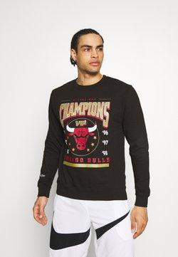 Mitchell & Ness - NBA CHICAGO BULLS 6 TIME CREW - Pelipaita - black