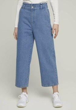 TOM TAILOR DENIM - Jeans a zampa - used mid stone blue denim