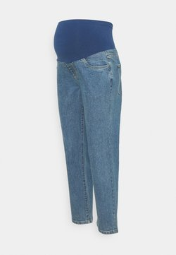Cotton On - MATERNITY STRETCH MOM - Jeans Straight Leg - coogee blue