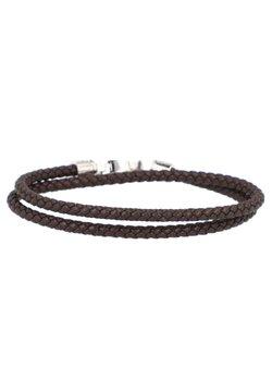 BOSS - BENJAMIN ARMBAND - Bracelet - dark brown