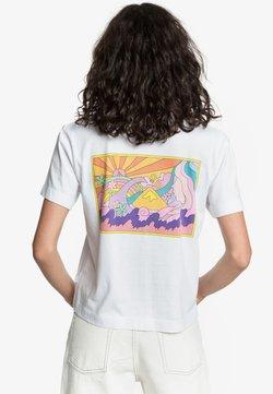 Quiksilver - T-shirt print - off-white