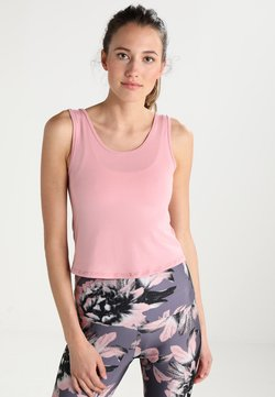 Onzie - KNOT CROP - T-shirt de sport - blush
