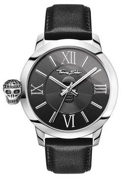 THOMAS SABO - REBEL WITH KARMA - Montre - black/silver-coloured