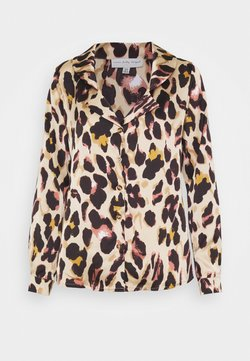 Never Fully Dressed - CHESTER LEOPARD - Bluse - brown