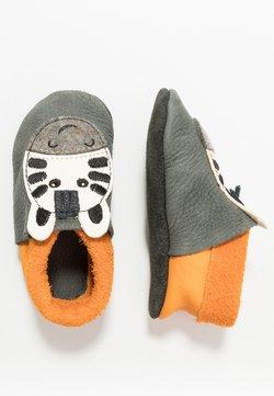 POLOLO - POLOLO ZEBRA - Chaussons pour bébé - granit
