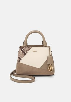 DKNY - SATCHEL - Torebka - soft clay/multi