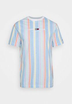 Tommy Jeans - STRIPE TEE - T-Shirt print - light powdery blue