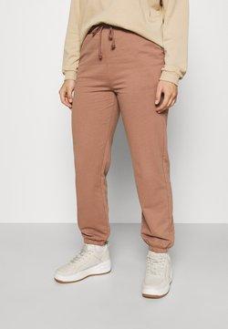 Vero Moda Curve - VMOCTAVIA PANT 2 PACK - Pantaloni sportivi - brownie/black