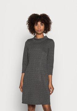 TOM TAILOR - CHECK DRESS - Fodralklänning - grey glencheck