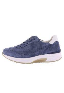 Gabor Comfort - ROLLINGSOFT - Sneaker low - jeans/weiss