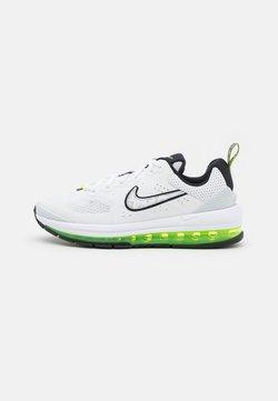 Nike Sportswear - AIR MAX GENOME - Sneakersy niskie - white/black/volt/pure platinum