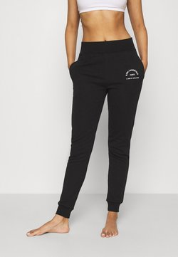 KARL LAGERFELD - ADDRESS LOGO - Jogginghose - black