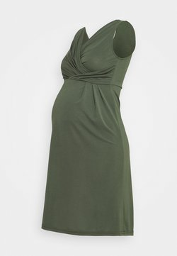 MAMALICIOUS - MLALONNA TESS DRESS - Robe en jersey - thyme